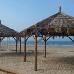 פרגולות בחוף ניצנים