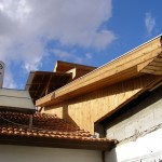 חיפוי עץ חיצוני לבית 2 - חיפוי דקורטיבי לבית