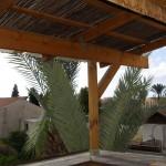 מרפסת בית סגירת פרגולה