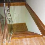 מדרגות עץ מבט מלמעלה - עבודות עץ מיוחדות