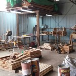 הכנת אדניות מעץ - הללויה הארומה שבעץ