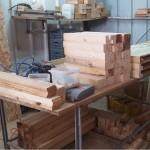 איך בונים אדנית עץ, ייצור אדניות עץ, חומרי גלם עץ | הללויה הארומה שבעץ