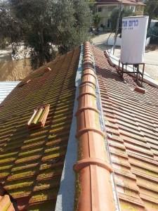 תיקון גג רעפים