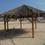 חוף ניצנים - פרגולות חוף