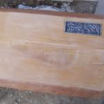 פלטה לשולחן מעץ - עבודות עץ שונות