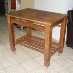 שיקום שולחן עץ - עבודות עץ שונות