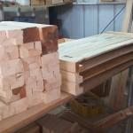 ייצור אדניות מעץ, חומרי גלם מעץ | הללויה הארומה שבעץ