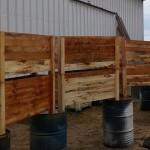 צביעת אדניות מעץ - ייצור אדניות | הללויה הארומה שבעץ