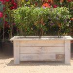 אדנית עץ דגם 'יהונתן' 70x30x30 - הללויה הארומה שבעץ